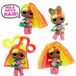 Lol surprise hairvibe glow girl