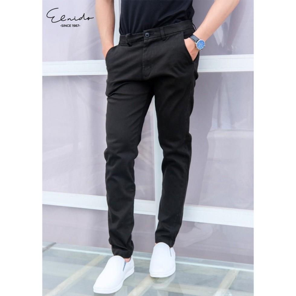Mặc gì đẹp: Đẹp với Quần kaki nam công sở phong cách Hàn Quốc trẻ trung ELNIDO flasksale