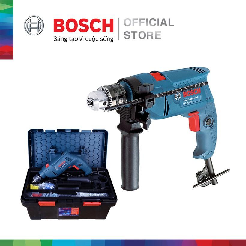 [NHẬP BOSCH10 GIẢM 10%] Máy khoan động lực Bosch GSB 550 FREEDOM - Tặng bộ phụ kiện FREEDOM 90 chi t
