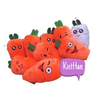 Gối bông hình cà rốt nhí đẹp thumbnail