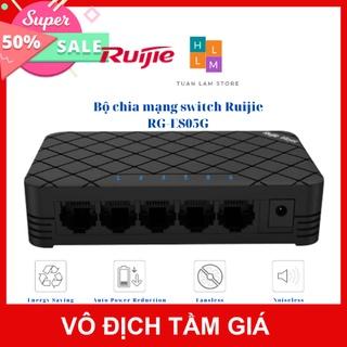 Bộ chia mạng switch Ruijie RG-ES05G 5 cổng 10 100 1000 BASE-T Vỏ nhựa thumbnail