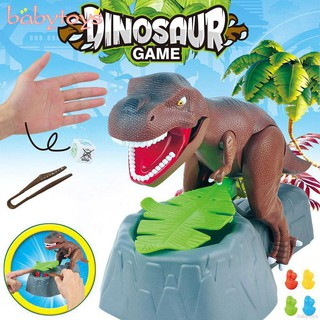 Dinosaur Toy Electric Biting Hand Tweezing Model with Sound Arms Moving