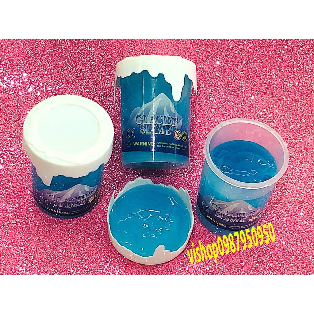 đồ chơi slime núi tuyết - slime lỏng mã VXA11 Vbán x0ng