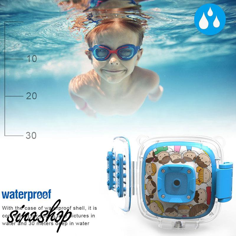 SIN Digital Kids Camera Photography Waterproof Portable
