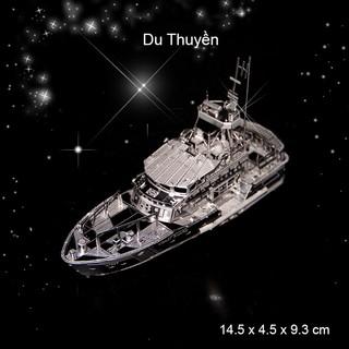 Đồ chơi lắp ghép mô hình 3D xe tank – tàu bằng thép