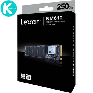 SSD Lexar NM610 M.2 PCIe Gen3 x4 NVMe 250GB LNM610-250RB - Hàng Chính Hãng