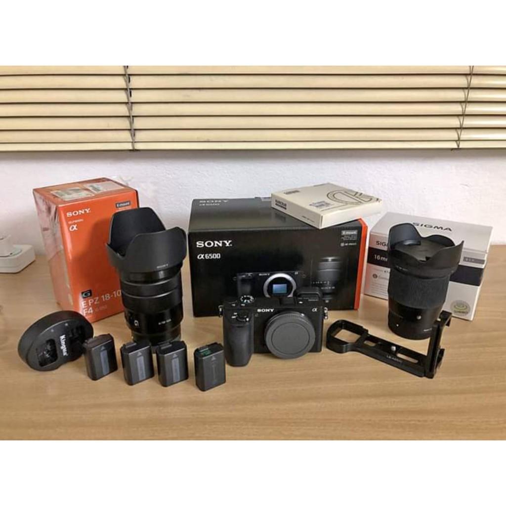 ขาย Sony a6500+Sony18-105 F4G+Sigma 16 F1.4