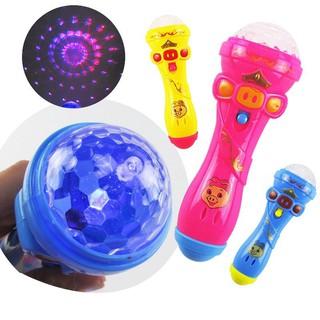 Micro phát đèn phát nhạc cho trẻ em