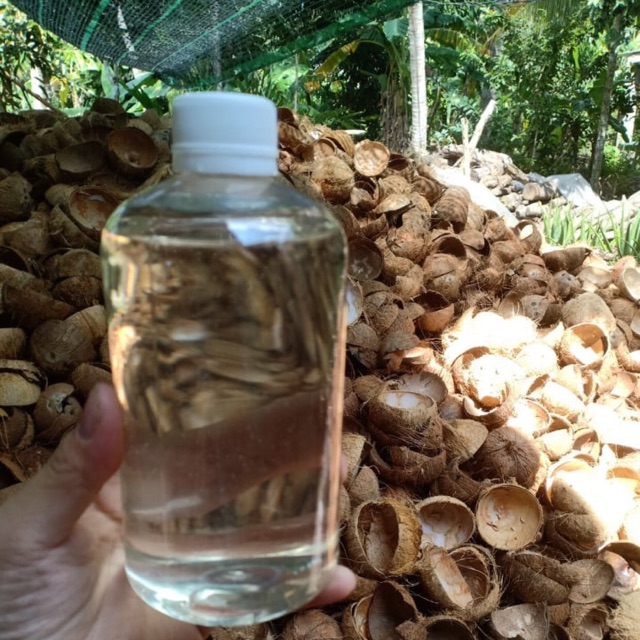 500ml Tinh Dầu dừa bến tre nguyên chất ép lạnh không mùi