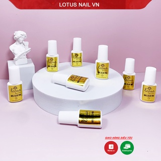Keo dán móng, nail glue Lotus Pro siêu chắc 7g thumbnail
