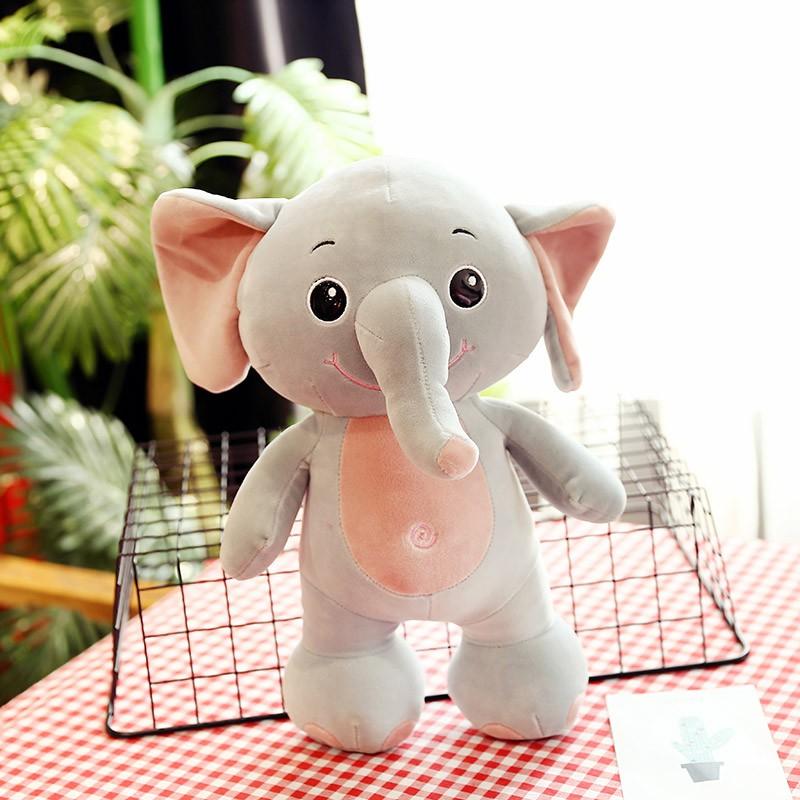 thú nhồi bông hình voi con đáng yêu