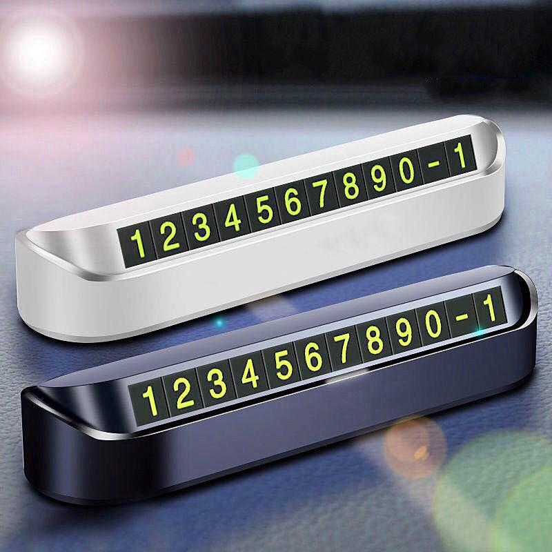 Biển số điện thoại đỗ xe hơi tạm thời tiện dụng