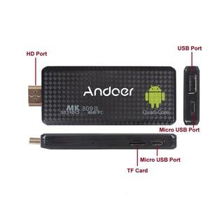 Android TV Stick TVPlus4X MK66Q-MQ4 – Đen