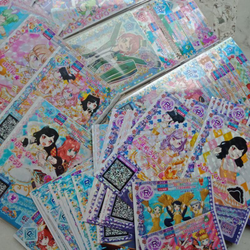 Bộ 5-8 Thẻ Bài Trò Chơi Pripara Nhật Bản