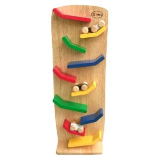 Đồ chơi gỗ vách xe rượt đuổi