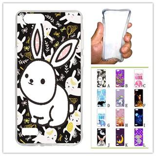 For OPPO A33/Neo 7 White Rabbit Soft Silicon Case