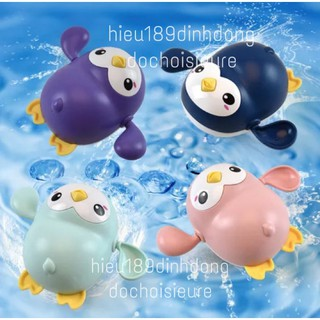 Chim cánh cụt Cá voi Cá heo Bơi Vặn Cót. Đồ Chơi Nhà Tắm Ngộ Nghĩnh Cho Bé