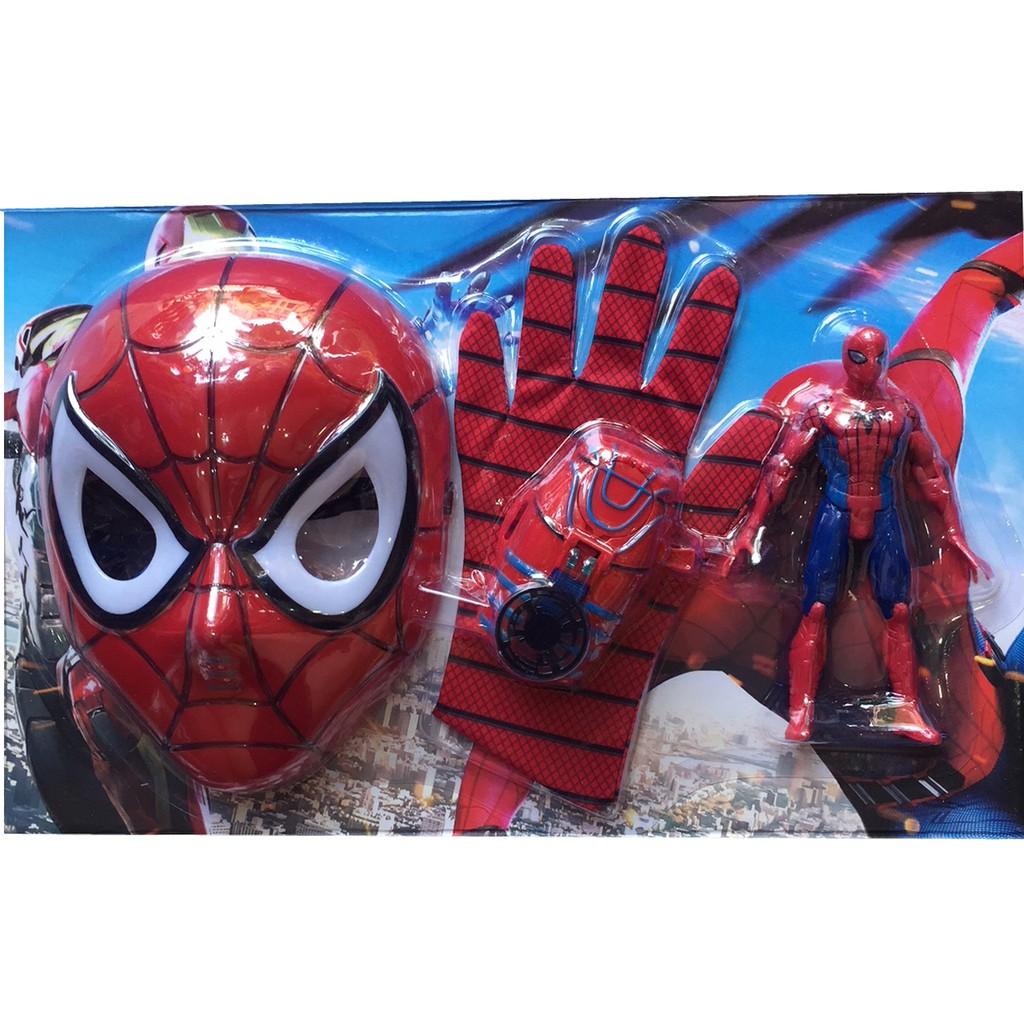 Bộ mặt nạ, găng tay, mô hình, đồng hồ Người nhện Spiderman có nhạc đèn - 3299995 , 1226401791 , 322_1226401791 , 175000 , Bo-mat-na-gang-tay-mo-hinh-dong-ho-Nguoi-nhen-Spiderman-co-nhac-den-322_1226401791 , shopee.vn , Bộ mặt nạ, găng tay, mô hình, đồng hồ Người nhện Spiderman có nhạc đèn