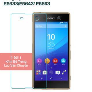 Cường lực Sony M5 phụ kiện đầy đủ