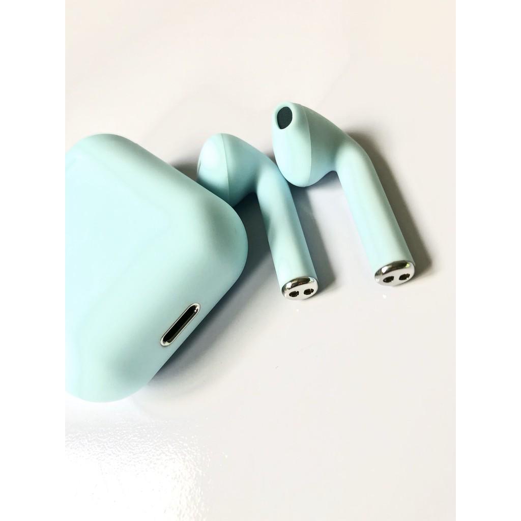 Tai nghe nhét tai không dây Bluetooth i12 Inpods 12, Cảm ứng vân tay 5.0, Nghe Siêu Hay