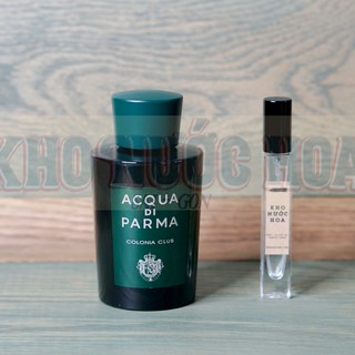 Nước hoa dùng thử Acqua Di Parma Colonia Club