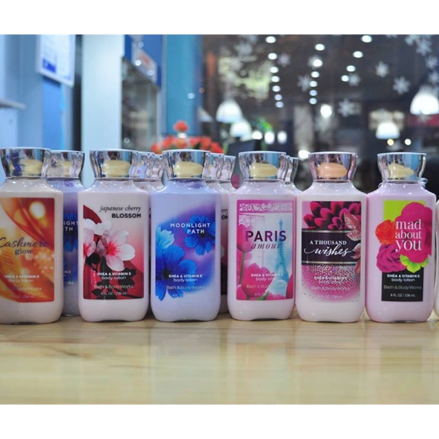 236ml Kem Dưỡng thể Bath & Body Works body lotion USA