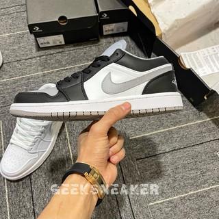 [GeekSneaker] Giày Jordan 1 Low Smoke Grey