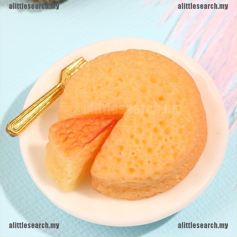Mô Hình Bánh Phô Mai Trang Trí Nhà Búp Bê Tỉ Lệ 1: 12