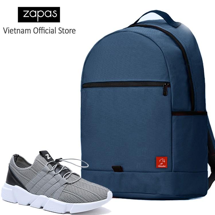 Combo Balo Du Lịch Glado Classical BLL006 (Xanh Dương) Và Giày Sneaker Thể Thao Zapas GZ016 (Xám) - 2991221 , 533981839 , 322_533981839 , 630000 , Combo-Balo-Du-Lich-Glado-Classical-BLL006-Xanh-Duong-Va-Giay-Sneaker-The-Thao-Zapas-GZ016-Xam-322_533981839 , shopee.vn , Combo Balo Du Lịch Glado Classical BLL006 (Xanh Dương) Và Giày Sneaker Thể Thao