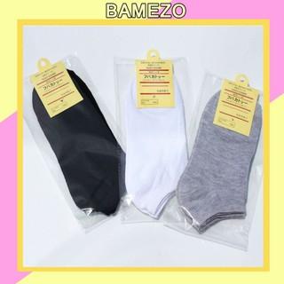 Tất nam Bamezo tất khử mùi thoáng mát chất da cao cấp đa năng CT3