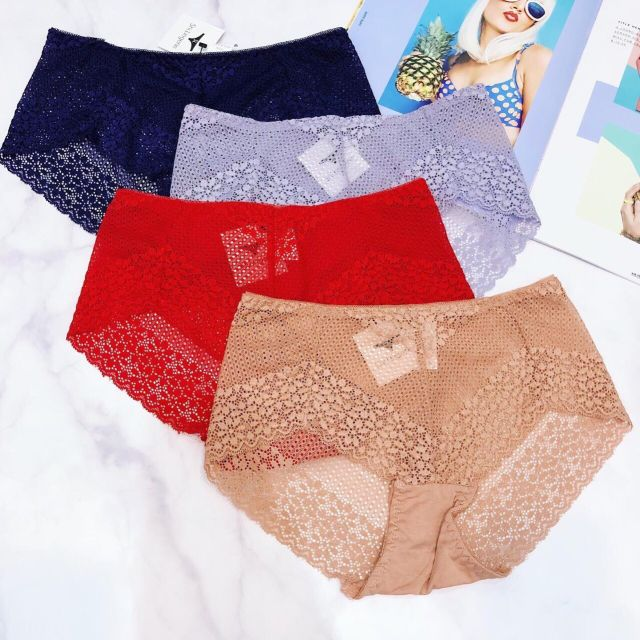 (0343)combo 10 quần Quần lót nữ gợi cảm sexy chất liệu ren cao cấp Candy