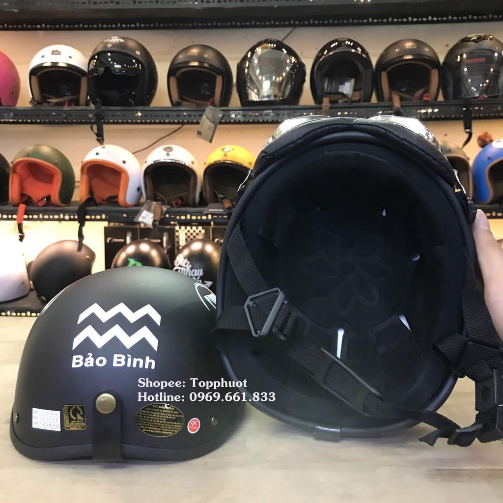 Mũ 1/2 cung Bảo Bình 20.1 - 18.2 - Mũ 12 cung hoàng đạo - Mũ đạt chuẩn kiểm định chất lượng loại tốt