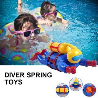 2018 NEW Clockwork Diving Man Diver Spring Toy Cool Chain Diver Model Novelty