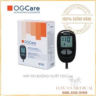 [1 ĐỔI 1 TRỌN ĐỜI] Máy đo đường huyết OG-CARE TẶNG 50 que thử và 100 kim lấy máu (Nhập Ý- CHÍNH HÃNG) thumbnail