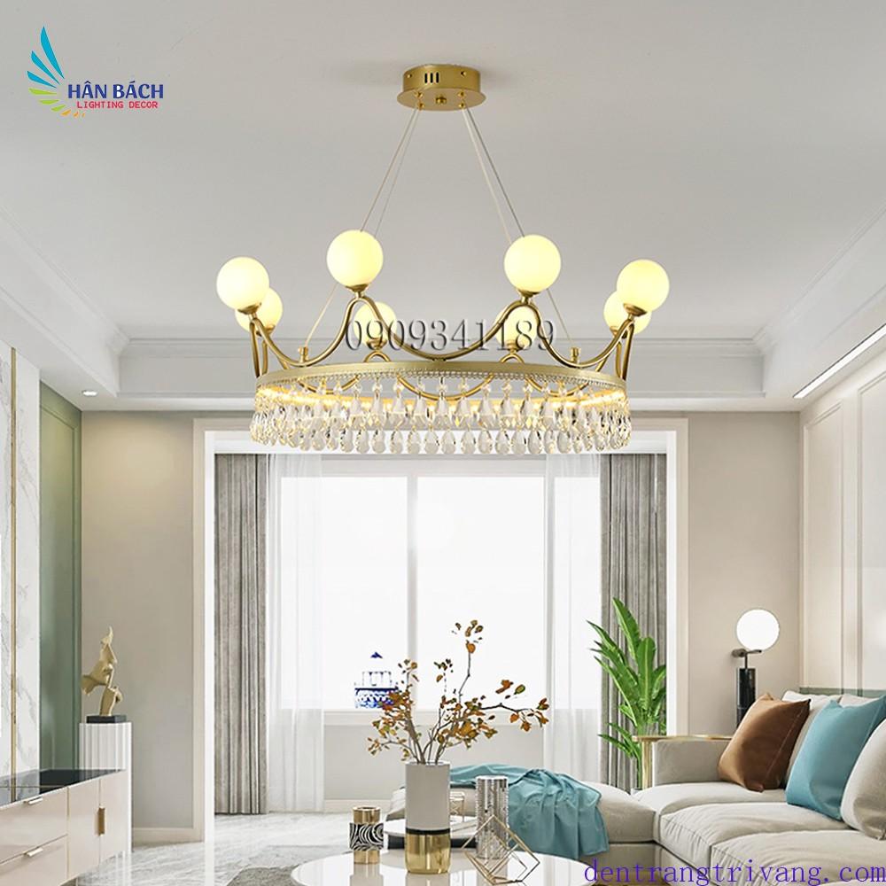 Đèn chùm,đèn gắn trần trang trí phòng khách,salon,khách sạn hiện đại