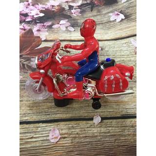 Đồ chơi siêu nhân nhện đi xe máy
