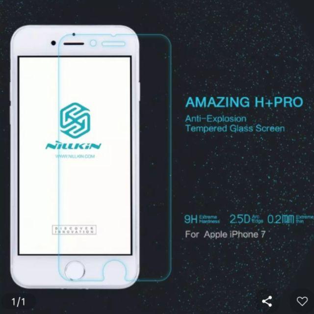 Kính cường lực IPhone 7/8 hiệu Nillkin H+ Pro xịn chính hãng