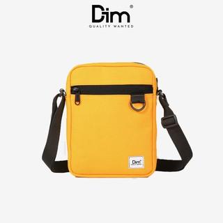 Túi Đeo Chéo DIM Mini Cross Bag - Màu Đen / Vàng / Nâu