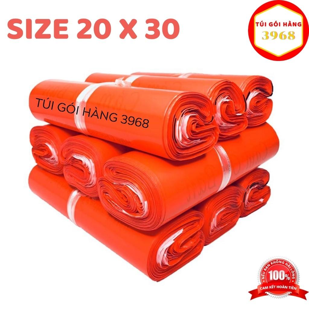 Túi gói hàng [FREESHIP] Túi gói hàng niêm phong cao cấp size 20x30 màu đỏ tươi