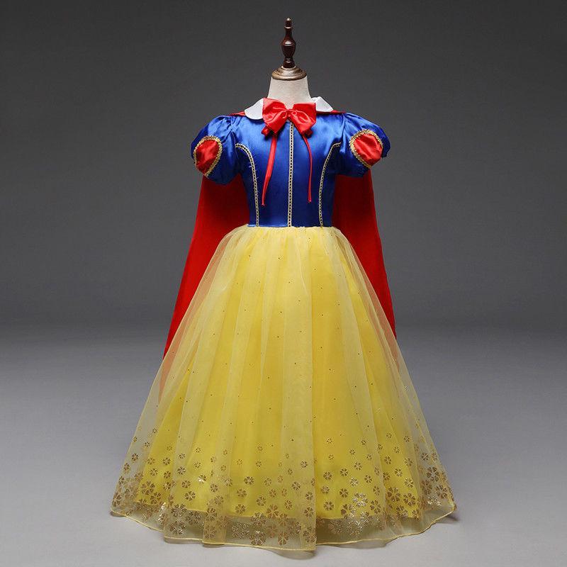 Bộ đầm hóa trang công chúa Bạch Tuyết cho bé gái