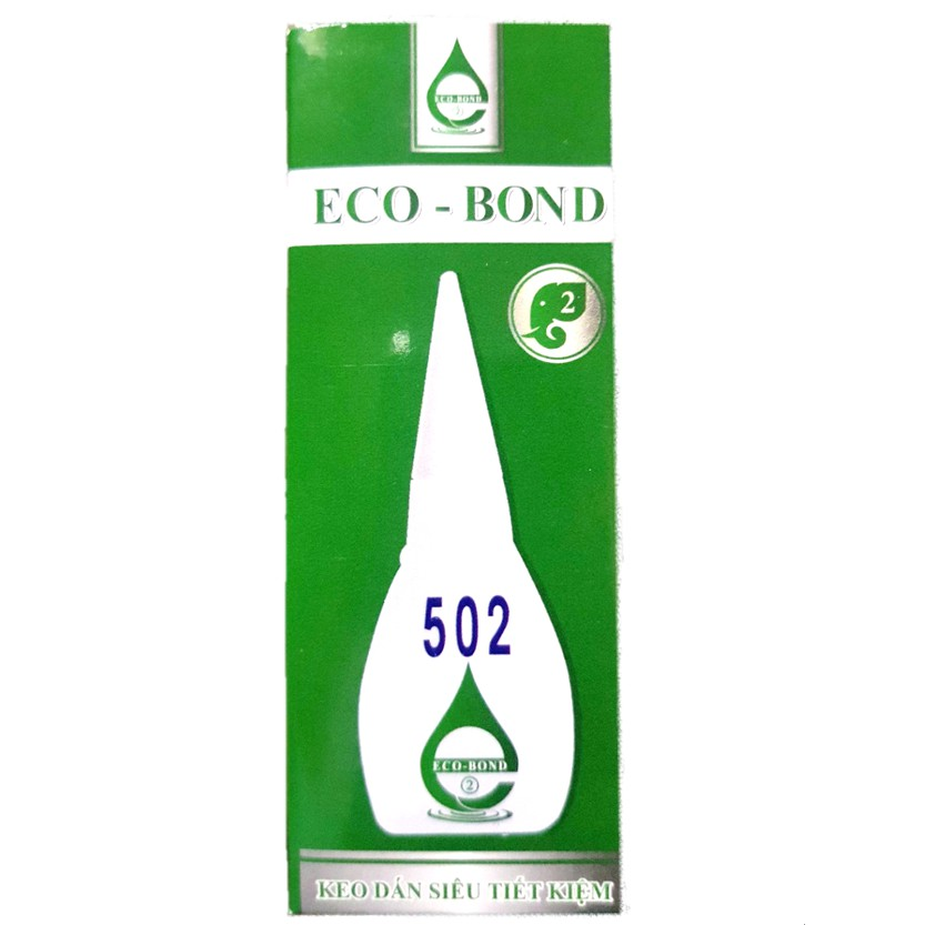 Keo Dán Sắt Siêu Dính 502 Eco Bond