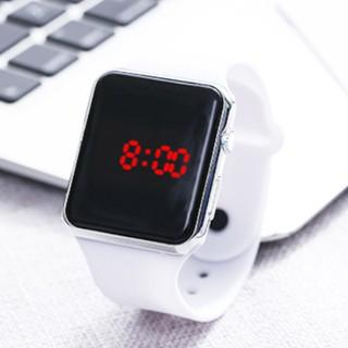 Đồng hồ thời trang nam nữ Led DT003 phong cách hàn quốc, mặt chữ nhật hiện đại sang trọng