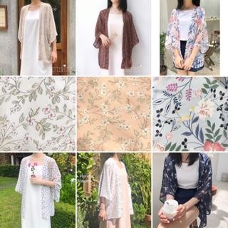 hơn 30 mẫu Kimono voan hoạ tiết Betterista thumbnail