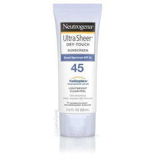 Kem chống nắng Neutrogena Ultra Sheer SPF 45 (88ml)