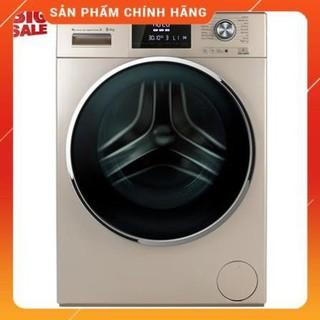 (Miễn phí giao hàng tại Hà Nội) Máy giặt Aqua Inverter 8.5 kg AQD-D850E.N