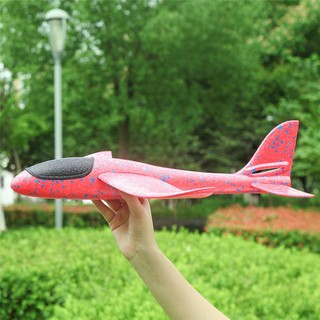 Hand Launch Throwing Foam Airplane Toy Children Outdoor Fun Toys Large Size