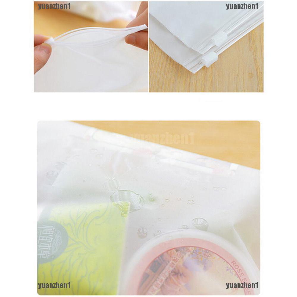 1 cái túi nhựa đựng đồ chống thấm nước có khóa gài tiện lợi thumbnail