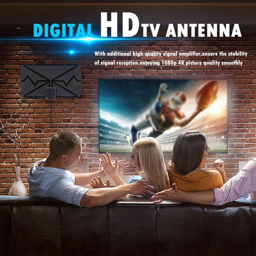 Ăng Ten Tv Kỹ Thuật Số Hdtv Free Hd 4k Kênh 1080p 13tf O9L0 1500 Dặm Và Phụ Kiện