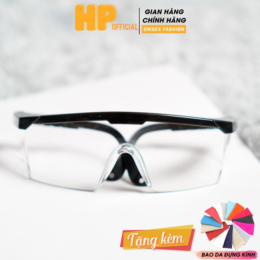 Kính bảo hộ chống bụi 💗Mắt kính trong suốt đi đường bảo vệ mắt chắn tia UV thời trang K2