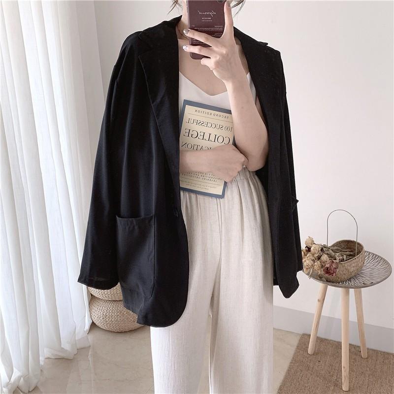 Áo Blazer mỏng Hàn Quốc 3 màu
